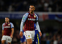 22nd September 2021; Stamford Bridge, Chelsea, London, England; EFL Cup football, Chelsea versus Aston Villa; Anwar El Ghazi of Aston Villa
