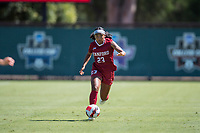 STANFORD, CA - SEPTEMBER 12: Nya Harrison during a game between Loyola Marymount University and Stanford University at Cagan Stadium on September 12, 2021 in Stanford, California.