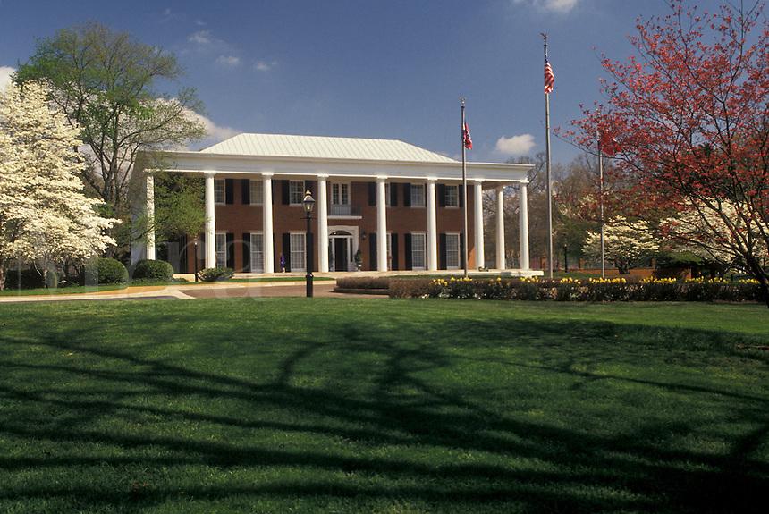 Governor's Mansion, Atlanta, Georgia, GA, Governor's Mansion in the spring in Atlanta.