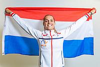 The Hague, The Netherlands, Februari 6, 2020,    Sportcampus, FedCup  Netherlands -  Balarus, Arantxa Rus (NED)<br /> Photo: Tennisimages/Henk Koster