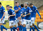 St Johnstone v Brechin….24.07.19      McDiarmid Park     Betfred Cup       <br />Callum Hendry celebrates his goal<br />Picture by Graeme Hart. <br />Copyright Perthshire Picture Agency<br />Tel: 01738 623350  Mobile: 07990 594431