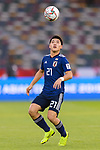 Doan Ritsu of Japan in action during the AFC Asian Cup UAE 2019 Group F match between Oman (OMA) and Japan (JPN) at Zayed Sports City Stadium on 13 January 2019 in Abu Dhabi, United Arab Emirates. Photo by Marcio Rodrigo Machado / Power Sport Images