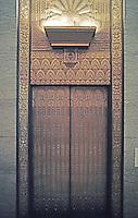 San Francisco:  Shell Building--Elevator, George Kelham, Architect 1930. 100 Bush St.