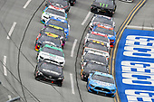 #4: Kevin Harvick, Stewart-Haas Racing, Ford Mustang Busch Light and #11: Denny Hamlin, Joe Gibbs Racing, Toyota Camry Driving for Change