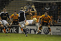 11/02/2008    Copyright Pic: James Stewart.File Name : sct_jspa08_motherwell_v_dundee.PAUL MCHALE SCORES DUNDEE'S FIRST.James Stewart Photo Agency 19 Carronlea Drive, Falkirk. FK2 8DN      Vat Reg No. 607 6932 25.Studio      : +44 (0)1324 611191 .Mobile      : +44 (0)7721 416997.E-mail  :  jim@jspa.co.uk.If you require further information then contact Jim Stewart on any of the numbers above........