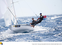47 Trofeo Princesa Sofia IBEROSTAR, bay of Palma, Mallorca, Spain, takes<br /> place from 25th March to 2nd April 2016. Qualifier event for the Rio 2016<br /> Olympic Games. Almost 800 boats and over 1.000 sailors from to 65 nations<br /> ©Pedro Martínez/Trofeo Sofia