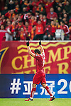 Elkeson de Oliveira Cardoso of Shanghai SIPG FC celebrates during their AFC Champions League 2017 Playoff Stage match between Shanghai SIPG FC (CHN) and Sukhothai FC (THA) at the Shanghai Stadium, on 07 February 2017 in Shanghai, China. Photo by Marcio Rodrigo Machado / Power Sport Images
