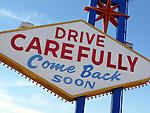 Backside of the Las Vegas Sign - Las Vegas, NV