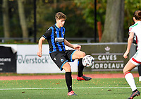 Isabelle Iliano (18 Brugge) pictured during a female soccer game between Club Brugge Dames YLA and Oud Heverlee Leuven on the 8 th matchday of the 2020 - 2021 season of Belgian Scooore Womens Super League , saturday 21 th November 2020  in Knokke , Belgium . PHOTO SPORTPIX.BE | SPP | DAVID CATRY