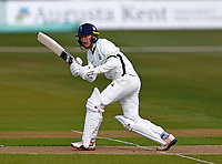 Jonathan Tattersall bats for Yorkshire during Kent CCC vs Yorkshire CCC, LV Insurance County Championship Group 3 Cricket at The Spitfire Ground on 15th April 2021