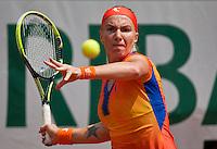 France, Paris, 31.05.2014. Tennis, French Open, Roland Garros, Petra Kvitova (CZE)<br /> Photo:Tennisimages/Henk Koster