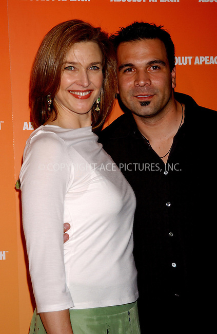WWW.ACEPIXS.COM . . . . . ....NEW YORK, NEW YORK, MAY 16TH 2005....Brenda Strong and Ricardo Chavira at the Absolut Peach launch at Koi in the Bryant Park Hotel....Please byline: KRISTIN CALLAHAN - ACE PICTURES.. . . . . . ..Ace Pictures, Inc:  ..Craig Ashby (212) 243-8787..e-mail: picturedesk@acepixs.com..web: http://www.acepixs.com