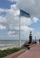 Fahne von Wangerooge - Wangerooge 20.07.2020: Flug nach Wangerooge
