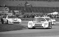 The #00 March-Porsche 83G of Sarel van der Merwe, Graham Duxbury and Tony Martin races to victory in the SunBank 24 at Daytona, Daytona International Speedway, Daytona Beach, FL, Feb. 4-5, 1984. (Photo by Brian Cleary/www.bcpix.com)