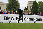 Maarten Lafeber (NED) tees off on the 1st tee to start his round on Day 2 of the BMW PGA Championship Championship at, Wentworth Club, Surrey, England, 27th May 2011. (Photo Eoin Clarke/Golffile 2011)
