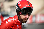 Thomas de Gendt (BEL) Lotto-Soudal before Stage 3 of Paris-Nice 2021, an individual time trial running 14.4km around Gien, France. 9th March 2021.<br /> Picture: ASO/Fabien Boukla | Cyclefile<br /> <br /> All photos usage must carry mandatory copyright credit (© Cyclefile | ASO/Fabien Boukla)