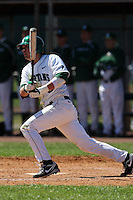 February 26, 2010:  Outfielder Bo Felt of the Michigan State Spartans during the Big East/Big 10 Challenge at Raymond Naimoli Complex in St. Petersburg, FL.  Photo By Mike Janes/Four Seam Images