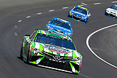 2017 Monster Energy NASCAR Cup Series<br /> O'Reilly Auto Parts 500<br /> Texas Motor Speedway, Fort Worth, TX USA<br /> Sunday 9 April 2017<br /> Kyle Busch, Interstate Batteries Toyota Camry and Kyle Larson<br /> World Copyright: Russell LaBounty/LAT Images<br /> ref: Digital Image 17TEX1rl_4467
