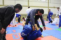 Mogi das Cruzes>, SP, 10/12/2011.Mestres e Alunos de diversas academias de Sao Paulo e Mogi partipao de um seminario de Jiu-Jitsu para treinamento e reciclagem da Arte Marcial  .FOTO: ADRIANO LIMA - NEWS FREE