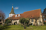 Horndon on the Hill Essex. Parish church St Peter and St Paul.