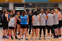 Tall Ferns women's basketball training at Bill Pulman Arena in Papakura, Auckland, New Zealand on Wednesday, 7 June 2017. Photo: Dave Lintott / lintottphoto.co.nz