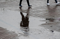 A very wet Hampshire Bowl had play abandoned for the day during India vs New Zealand, ICC World Test Championship Final Cricket at The Hampshire Bowl on 21st June 2021
