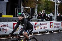 Annemiek Van Vleuten (NED/Mitchelton-Scott) finishing<br /> <br /> 4th Liège-Bastogne-Liège-Femmes 2020 (1.WWT)<br /> 1 Day Race: Bastogne – Liège 135km<br /> <br /> ©kramon