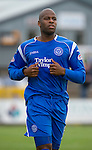 St Johnstone FC.... Season 2010-11.Michael Duberry.Picture by Graeme Hart..Copyright Perthshire Picture Agency.Tel: 01738 623350  Mobile: 07990 594431