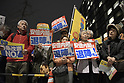 Protestors rally against Abe over Moritomo Gakuen scandal