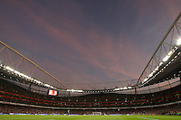 General view of the Emirates Stadium. - Arsenal vs Hull City - Barclays Premier League Football at the Emirates Stadium, London - 27/09/08 - MANDATORY CREDIT: Joseph Toth/TGSPHOTO - Self billing applies where appropriate - 0845 094 6026 - contact@tgsphoto.co.uk - NO UNPAID USE.