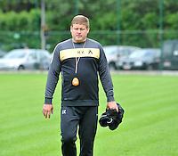 KV Kortrijk : Eerste training met Hein Vanhaezebrouck.foto VDB / BART VANDENBROUCKE