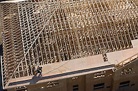 roof joist construction aerial Leominster, MA