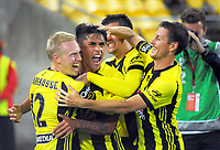 180325 A-League Football - Wellington Phoenix v Brisbane Roar