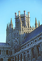 Ely: Cathedral--Octagon and Lantern, External, 14th century. Photo '90.