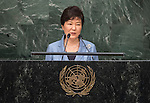 Address by Her Excellency Park Geun-hye, President of the Republic of Korea