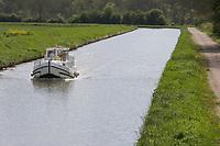 Europe/France/Bourgogne/89/Yonne/ Merry: le canal du Nivernais dans la vallée de l'Yonne