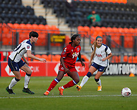 Danielle Carter of Reading on the ball during Tottenham Hotspur Women vs Reading FC Women, Barclays FA Women's Super League Football at the Hive Stadium on 7th November 2020