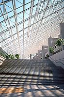 Vancouver: Provincial Law Courts--Entrance.  Photo '86.