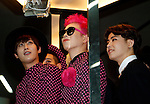 """Block.B, Jul 24, 2014 : South Korean boy band Block.B, attend a photo call before the 10th anniversary live special of weekly music chart show, """"M! Countdown"""" of Mnet in Goyang, north of Seoul, South Korea. (Photo by Lee Jae-Won/AFLO) (SOUTH KOREA)"""