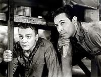 James Cagney and George Raft in EACH DAWN I DIE