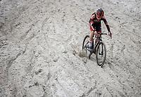 Laura Verdonschot (BEL/Pauwels Sauzen-Bingoal) <br /> <br /> Women's elite Race <br /> Zilvermeercross Mol (BEL) 2021<br /> <br /> ©Kramon