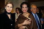 """MARIA PIA SFORZA RUSPOLI CON MARISELA FEDERICI<br /> VERNISSAGE """"ROMA 2006 10 ARTISTI DELLA GALLERIA FOTOGRAFIA ITALIANA"""" AUDITORIUM DELLA CONCILIAZIONE ROMA 2006"""