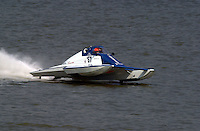"S-67 ""Impossible Dream, 2.5 Litre Stock hydroplane.Rising Sun Regatta, Ohio River, Rising Sun, IN, USA 8-9 September,2001.Copyright©F.Peirce Williams 2001..F. Peirce Williams .photography.P.O.Box 455  Eaton, OH 45320 USA.p: 317.358.7326  e: fpwp@mac.com"