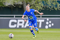 Heleen Jaques (4) of AA Gent pictured during a female soccer game between AA Gent Ladies and Oud Heverlee Leuven on the fourth matchday of play off 1 in the 2020 - 2021 season of Belgian Scooore Womens Super League , saturday 1 st of May 2021  in Oostakker , Belgium . PHOTO SPORTPIX.BE | SPP | STIJN AUDOOREN