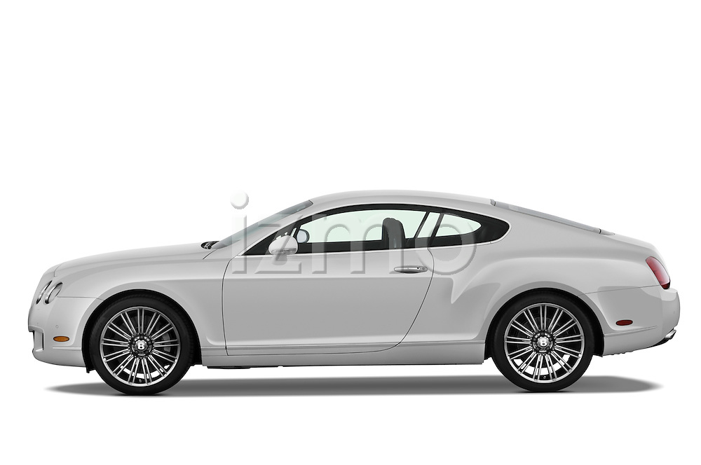 Driver side profile view of a 2008 - 2012 Bentley Continental GT Speed Coupe.