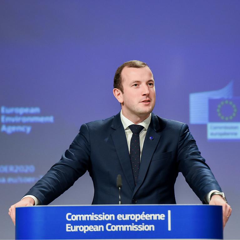 EU Commissioner for Fisheries Virginijus Sinkevičius