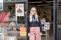 BNPS.co.uk (01202) 558833<br /> Pic: WillDax/BNPS<br /> <br /> Emma Rowland who runs Pen Gallery on the Kingland in Poole<br /> <br /> A complex of ten small independent businesses that are not paying rent or business rates could hold the answer for saving the British high street.<br /> <br /> Kingland is an ambitious initiative aimed at breathing new life into the struggling town centre in Poole, Dorset, which people said had become like a 'ghost town'.<br /> <br /> The new development has been billed as a 'boutique shopping experience' and the owners of the small independents do not have to pay any rent or business rates for the first two years.<br /> <br /> The shops offer a diverse range with a fishmonger, zero waste grocery store, custom surfboard maker, coffee shop, gallery, restored furniture shop, fragrance shop, plant and interiors shop, design studio and a gin bar and shop.