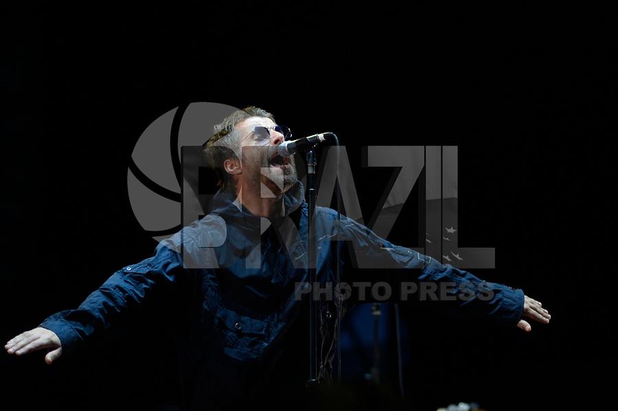 SÃO PAULO,SP, 25.03.2018 - LOLLAPALOOZA 2018 – Liam Gallagher se apresenta no festival Lollapalooza 2018, realizado no Autódromo de Interlagos em São Paulo, na tarde deste domingo, 25. (Foto: Levi Bianco/Brazil Photo Press)
