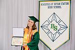 Farrar, Madeline  received their diploma at Bryan Station High school on  Thursday June 4, 2020  in Lexington, Ky. Photo by Mark Mahan Mahan Multimedia