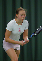10-3-06, Netherlands, tennis, Rotterdam, National indoor junior tennis championchips, of Marieke  Zegwaart